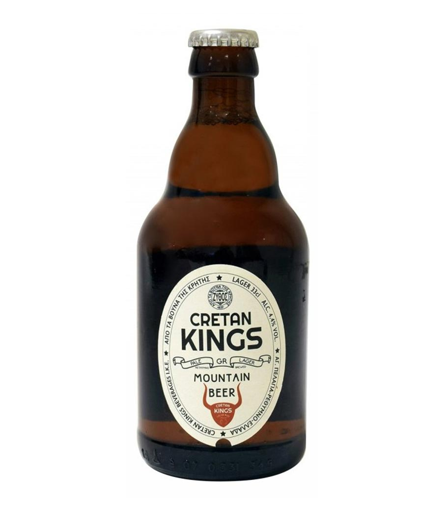 CRETAN KINGS MOUNTAIN BEER 330ml