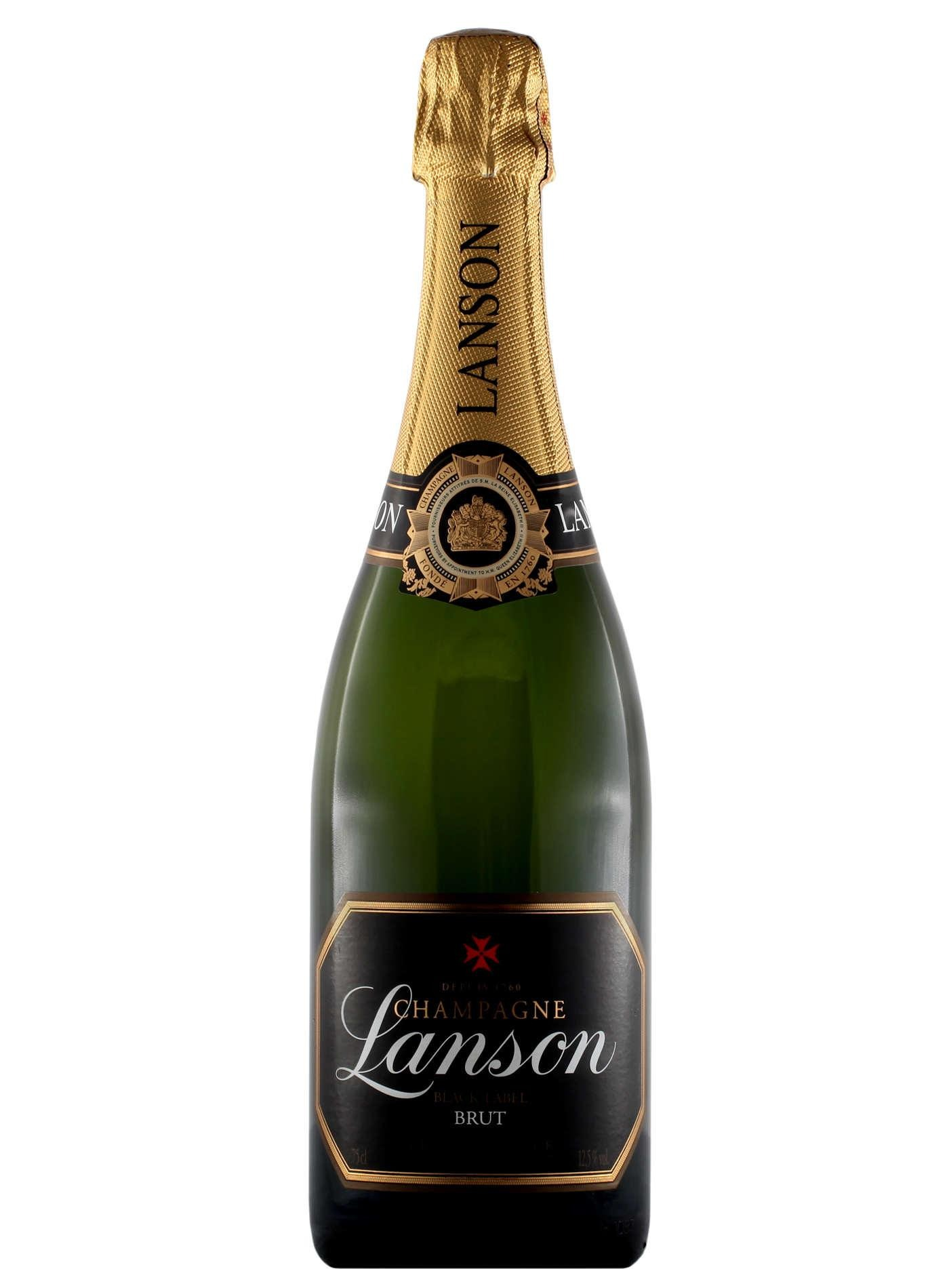 LANSON BLACK LABEL BRUT CHAMPAGNE 750ml