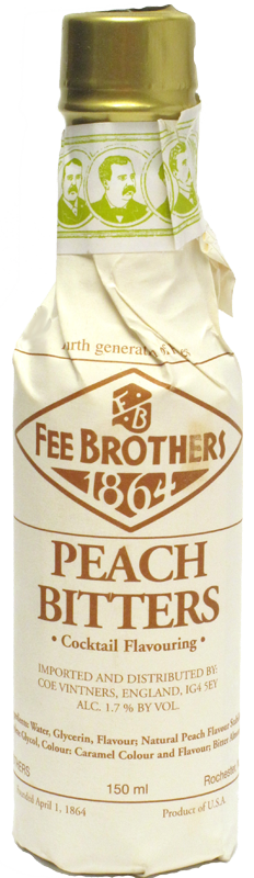 FEE BROTHERS PEACH BITTERS 150ml