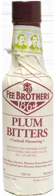 FEE BROTHERS PLUM BITTERS 150ml