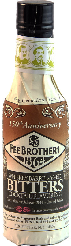 FEE BROTHERS WHISKEY BARREL AGED BITTERS 150ml