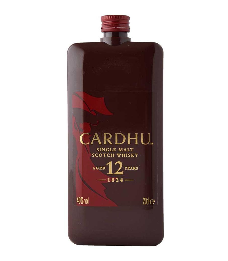 CARDHU 12Y POCKET SCOTCH WHISKY 200ml