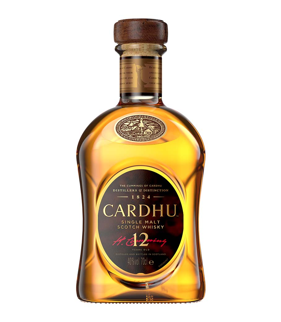 CARDHU 12Y WHISKY 700ml