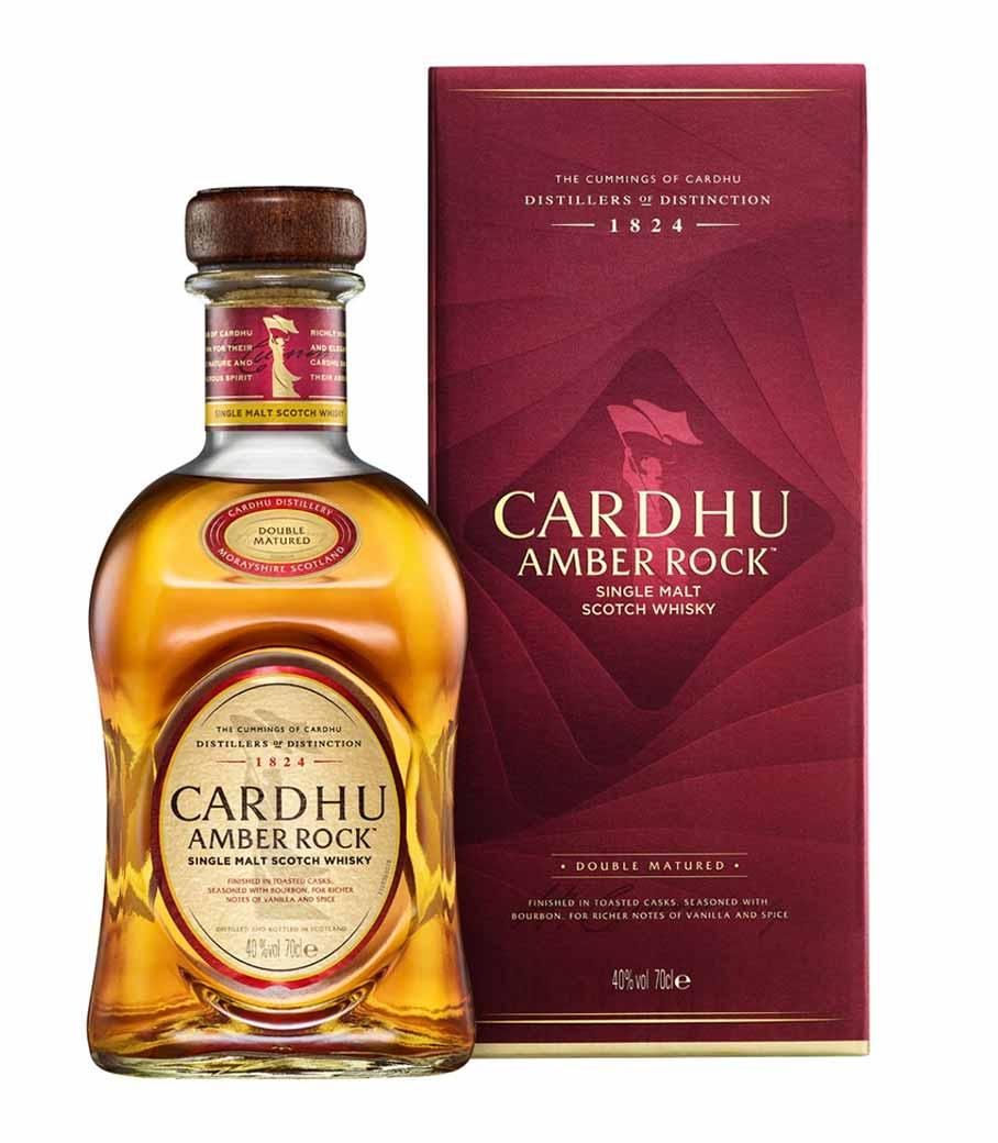 CARDHU AMBER ROCK 700 ml