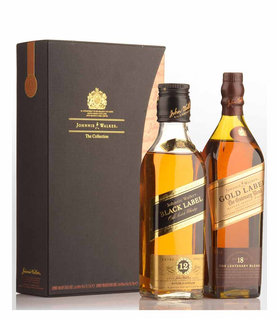 JOHNNIE WALKER COLLECTION EDITION GIFT PACK 2X200ml
