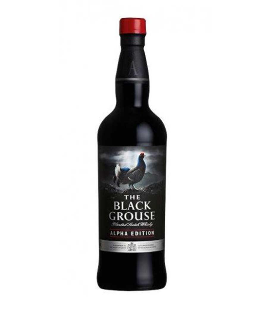FAMOUS GROUSE BLACK ALPHA EDITION WHISKY 700ml