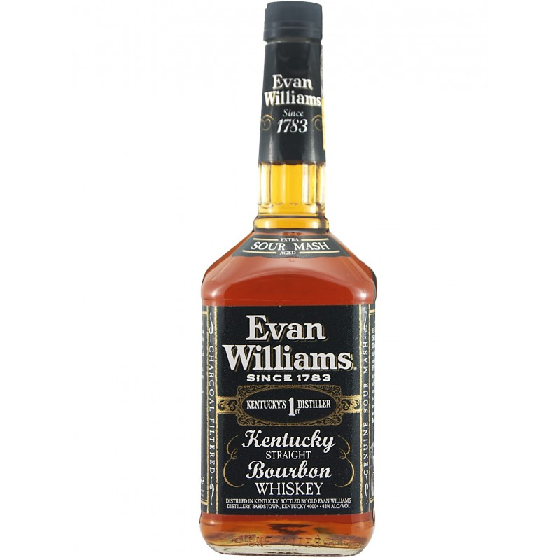 EVAN WILLIAMS BOURBON WHISKEY 700ml