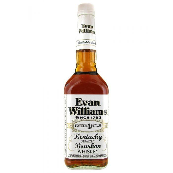 EVAN WILLIAMS BOTTLED IN BOND BOURBON WHISKEY 700ml