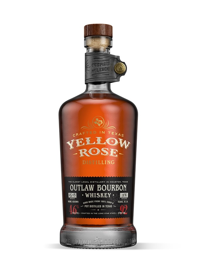 YELLOW ROSE OUTLAW BOURBON 700ml