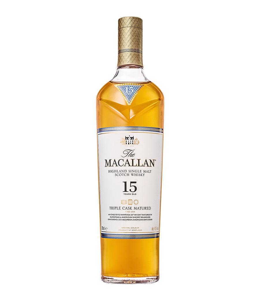 MACALLAN TRIPLE CASK 15Y WHISKY 700ml