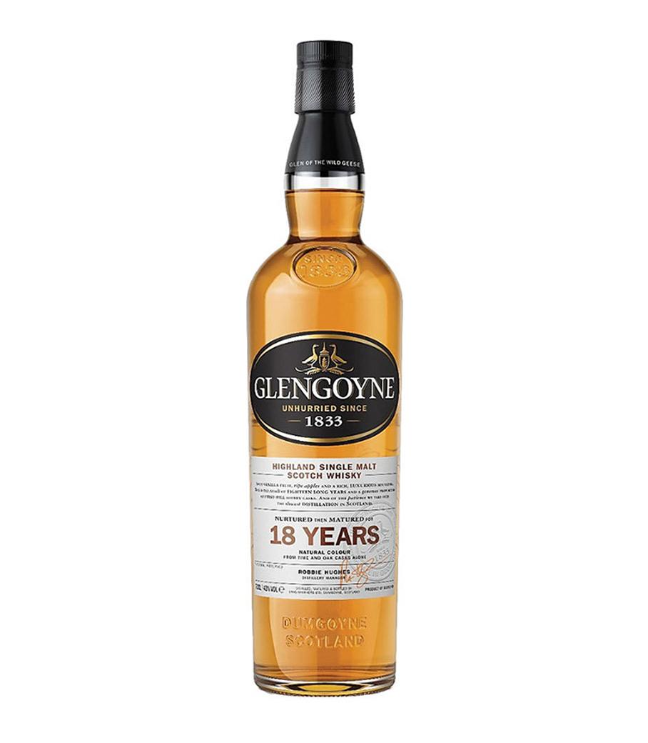 GLENGOYNE 18Y WHISKY 700ml