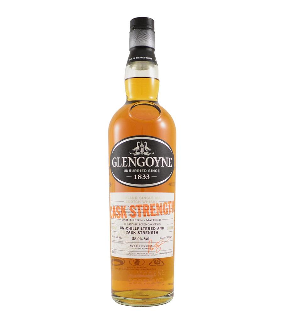 GLENGOYNE CASK STRENGTH WHISKY 700ml