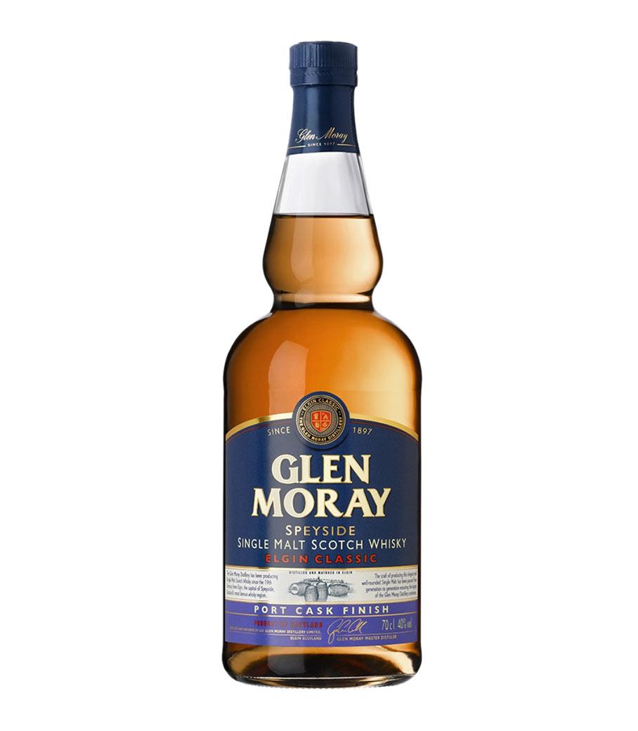 GLEN MORAY PORT CASK WHISKY 700ml