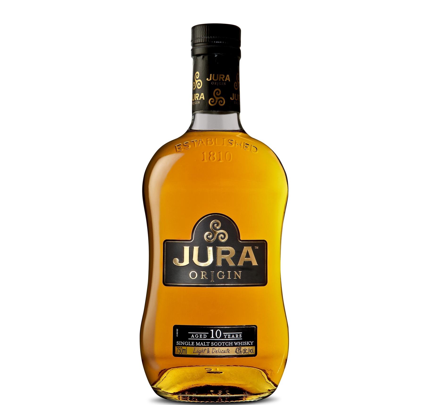 JURA  ISLE ORIGIN 10 YEARS 700ml