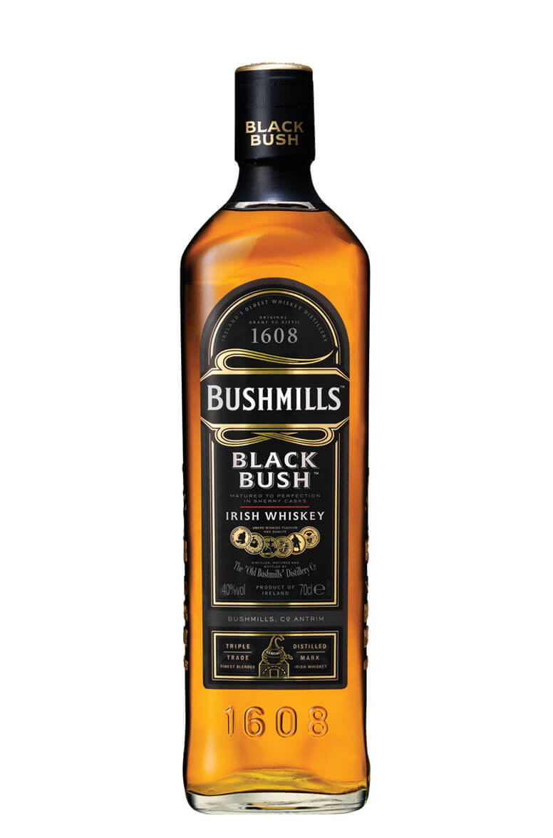 BUSHMILLS BLACK BUSH 700ml