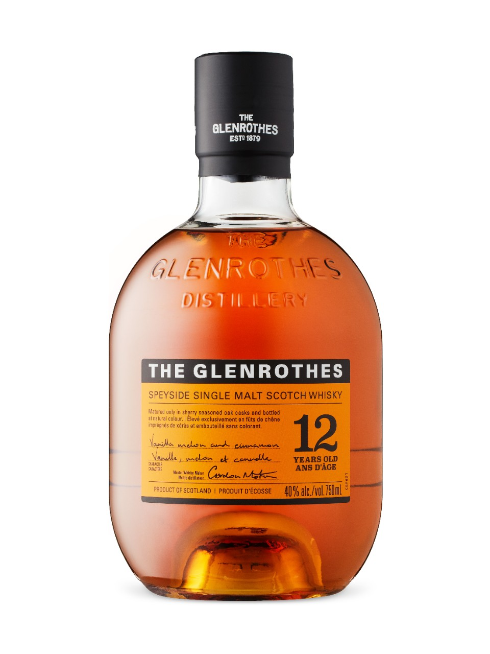 GLENROTHES 12 YEARS 700ml