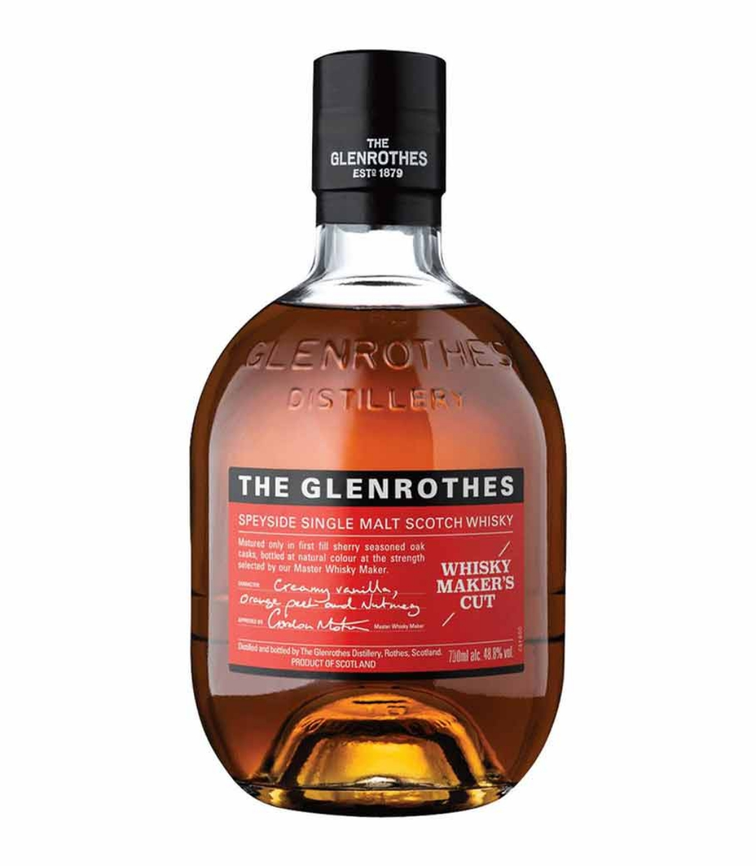 GLENROTHES MAKERS CUT WHISKY 700ml