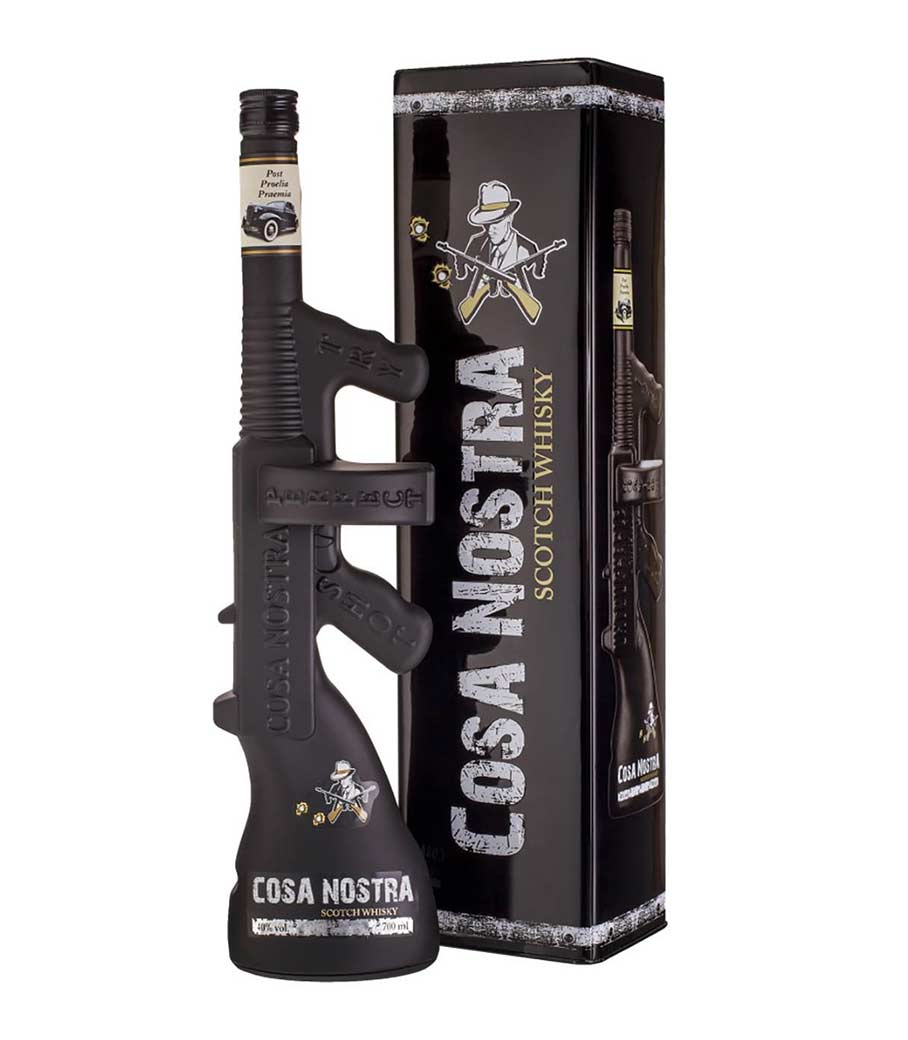 COSA NOSTRA TOMMY GUN WHISKY 700ml