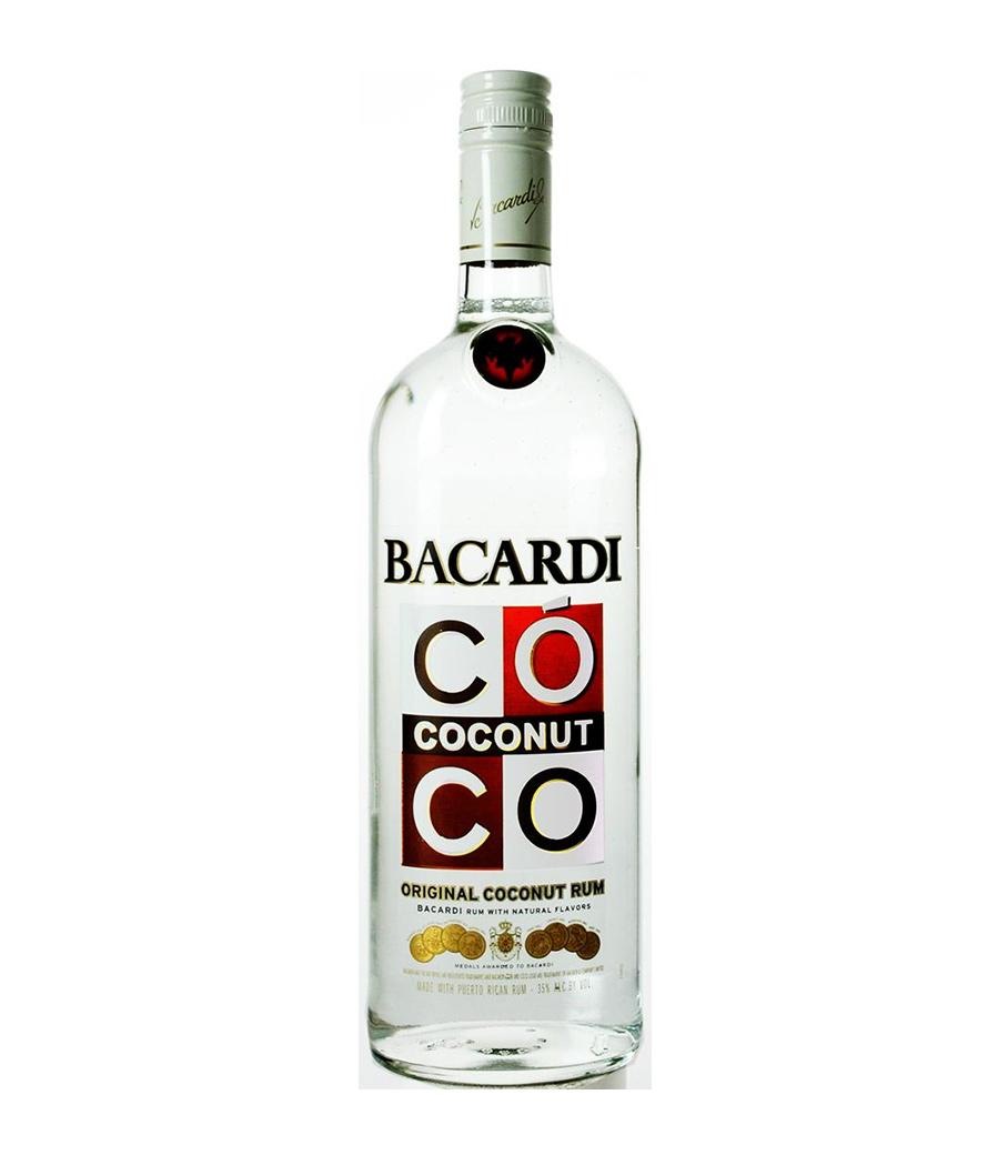 BACARDI COCONUT RUM 1 LT